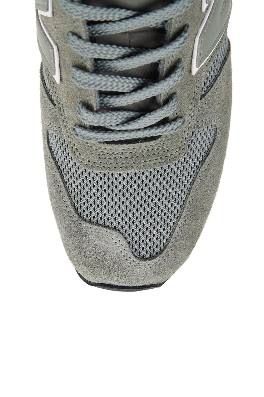 New Balance Зеленые замшевые кроссовки №770 кроссовки new balance gw500lgt b