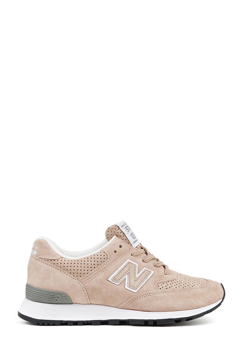New Balance Замшевые кроссовки песочного цвета №576 купить new balance u420ukg в сургуте