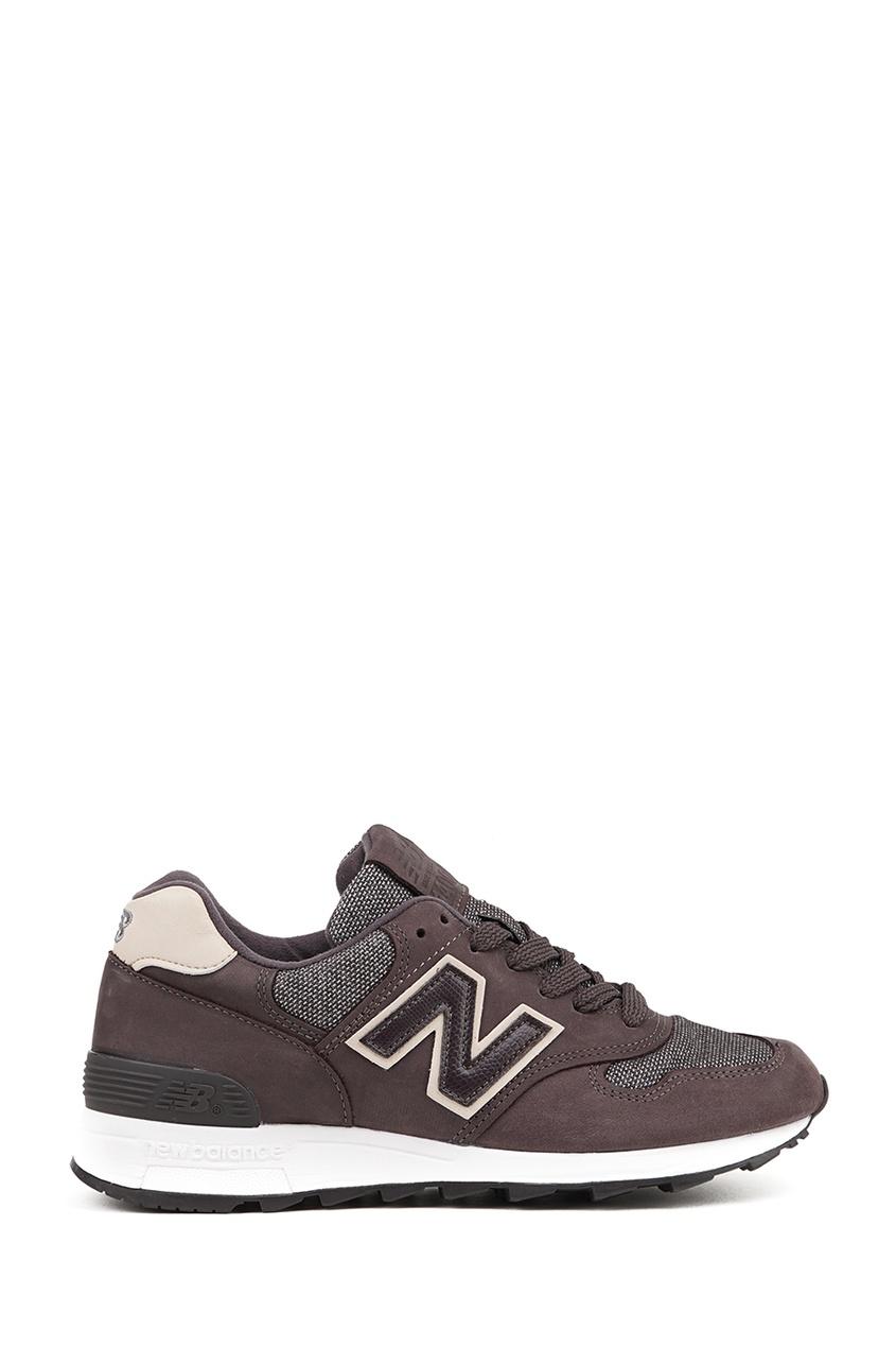 New Balance Коричневые кроссовки из замши №1400 купить new balance u420ukg в сургуте