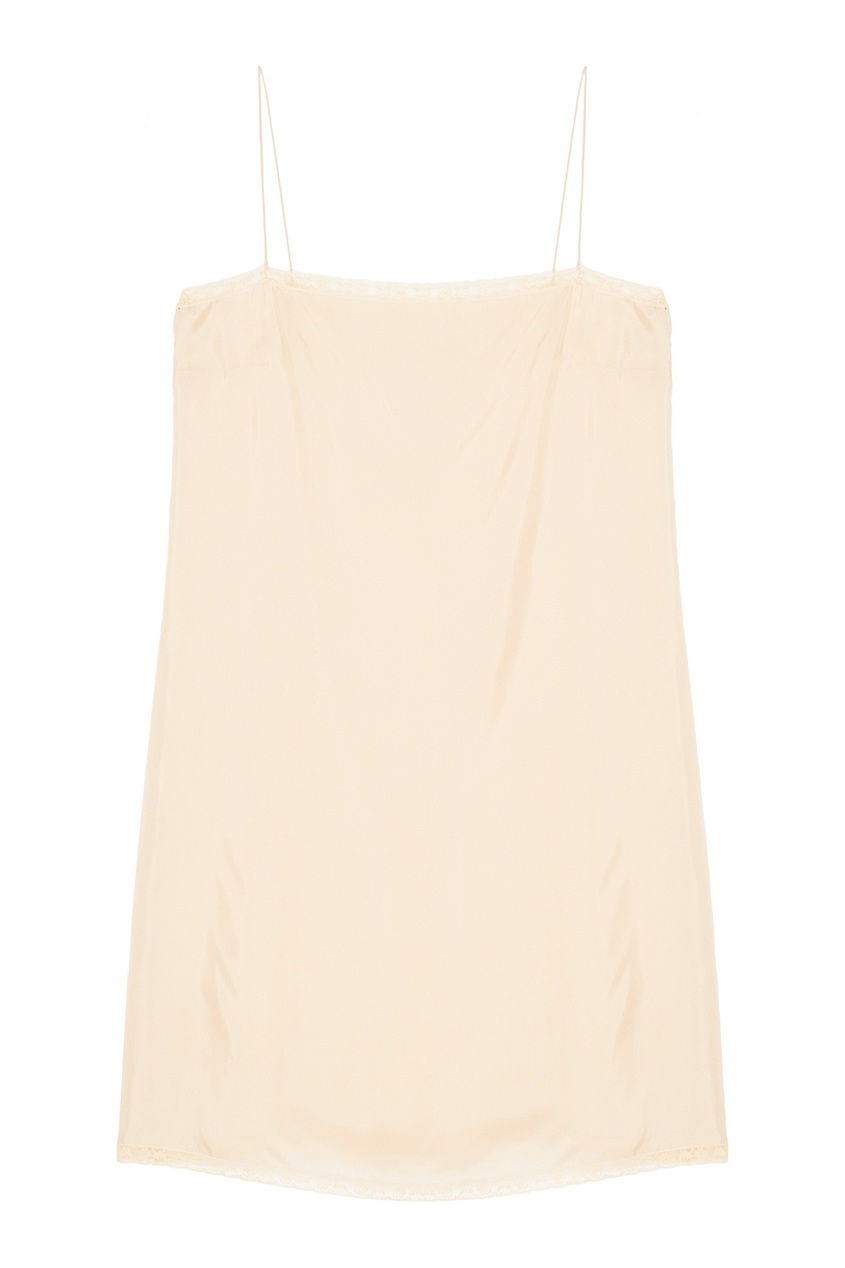 Prada Бежевое платье-комбинация anais gillian комбинация