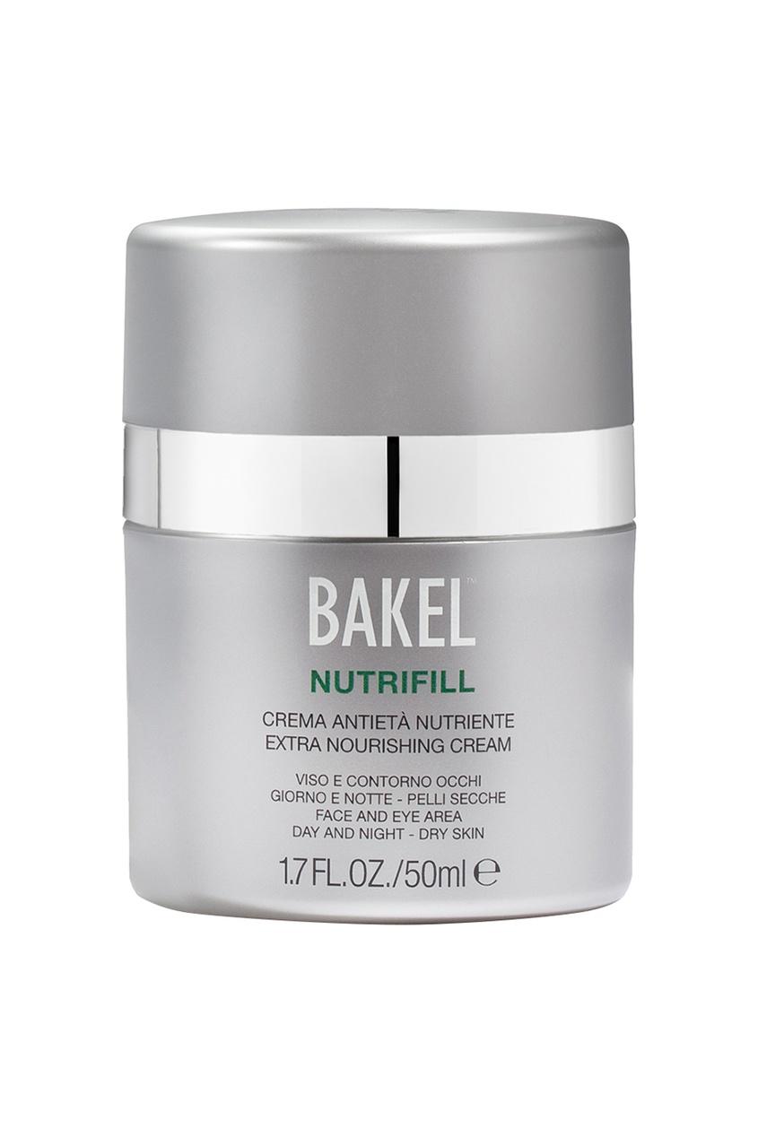Bakel Крем увлажняющий для лица и контура глаз для сухой кожи Nutrifill, 50 ml bakel сыворотка vitea для лица и контура глаз масляная питательная 30 мл