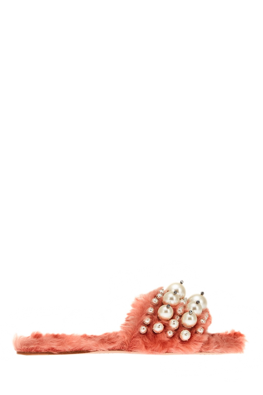 Miu Miu Сандалии из искусственного меха