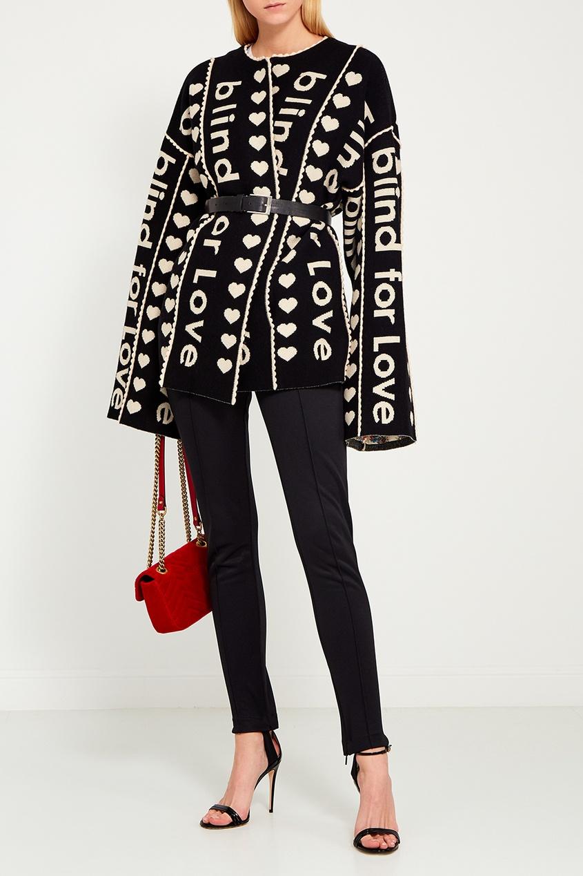 цены на Gucci Черные брюки со штрипками в интернет-магазинах