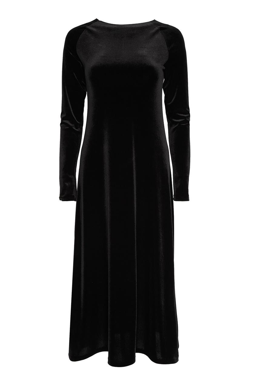 ЛИ-ЛУ Бархатное платье-миди экран для ванны triton ирис лу лу