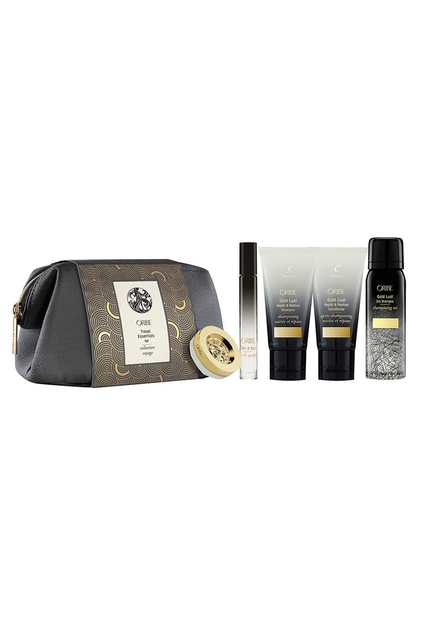Oribe Набор «Драгоценная коллекция» Travel Essentials Set, 62+50+50+10 ml+7g oribe парфюмерная вода серебряная жемчужина 50ml