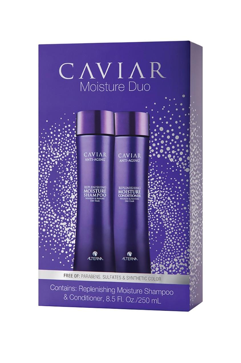 Набор «Увлажнение и питание» Caviar Moisture Holiday Duo (шампунь+кондиционер), 250+250 ml