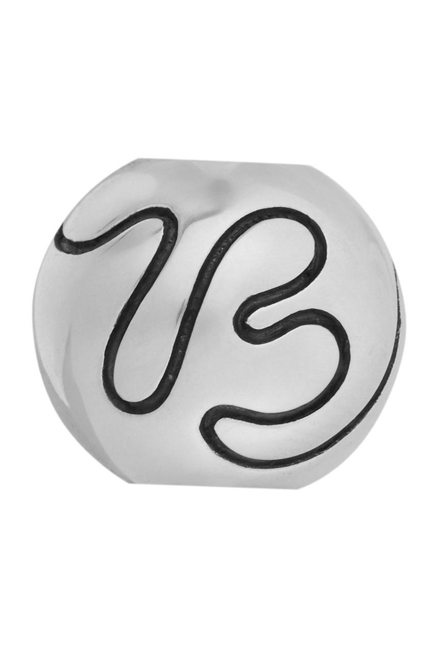 Серебряный шарм Letter B от U Jewels