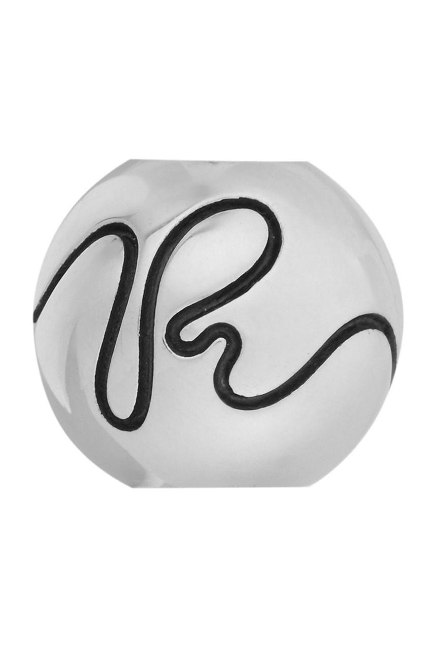 Серебряный шарм Letter R от U Jewels