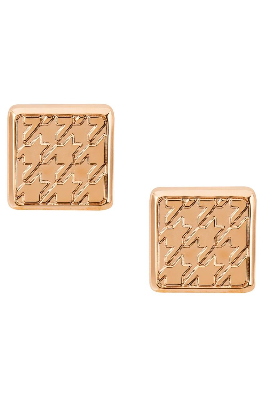 Canali Золотистые запонки с гравировкой