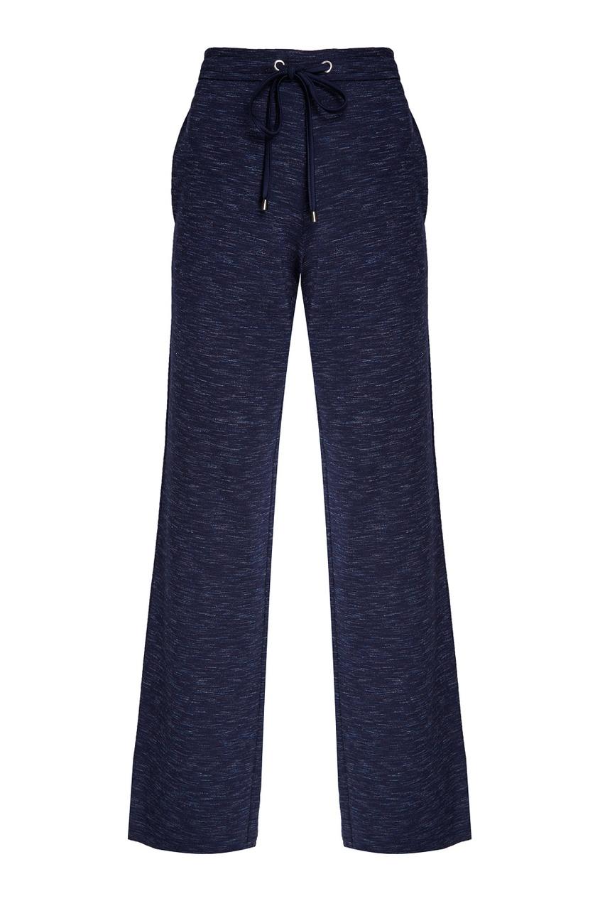 NOVAYA Синие меланжевые брюки