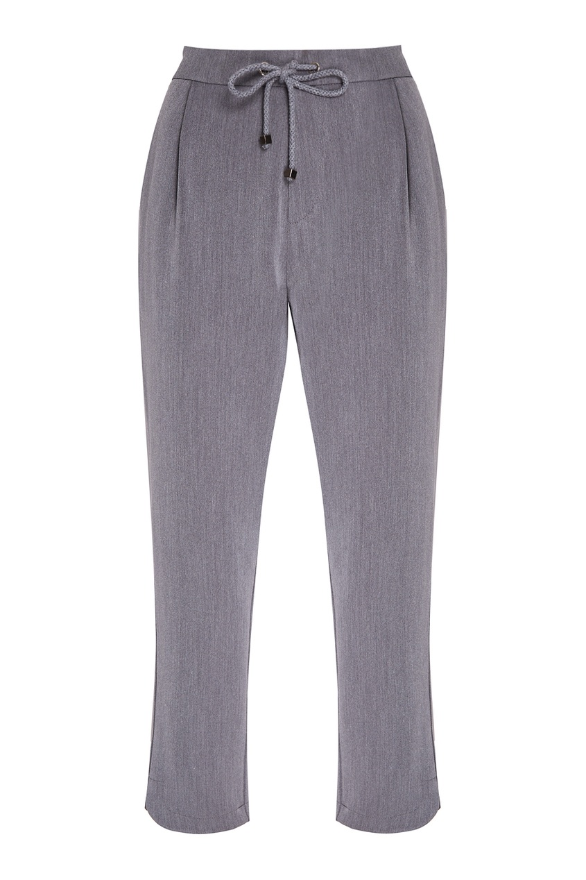 NOVAYA Серые брюки с карманами