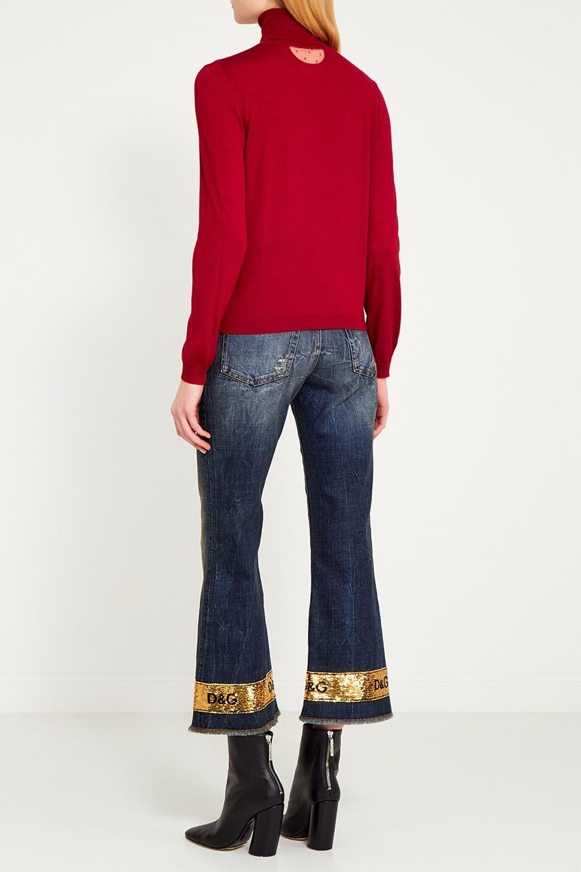 Dolce&Gabbana Джинсы с золотистой полосой