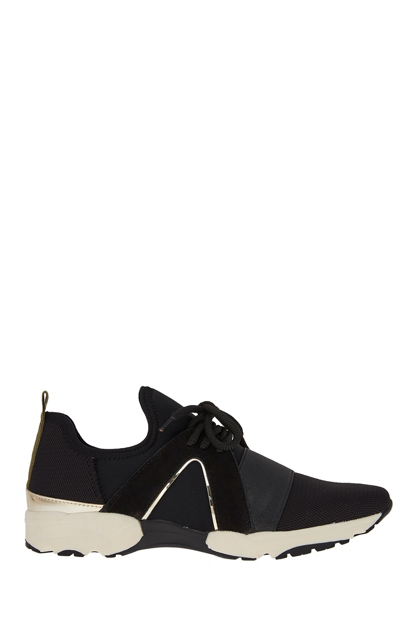 Carvela Kurt Geiger Черные текстильные кроссовки