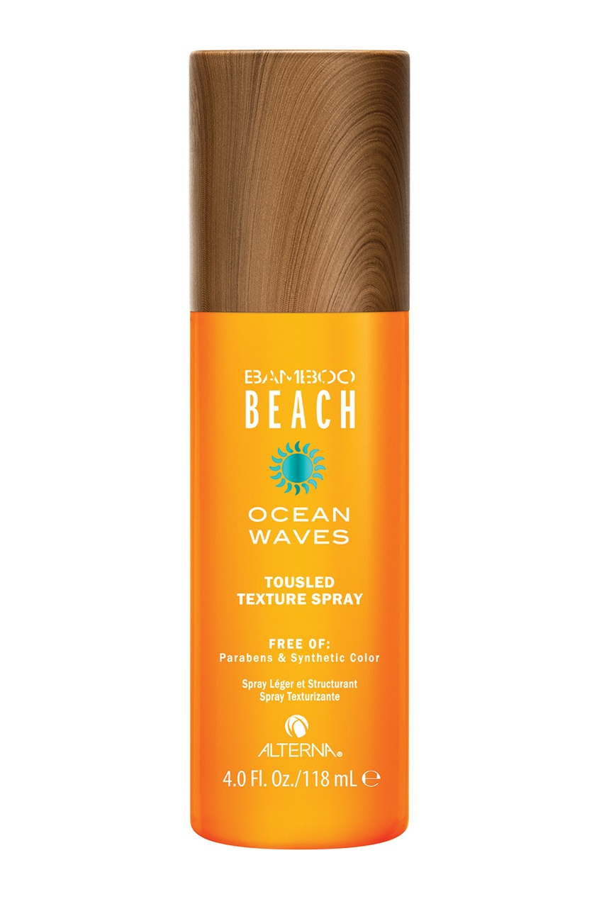 "Alterna Спрей для создания текстуры волос Bamboo Beach Summer Ocean Waves Tousled Texture Spray, 118 ml alterna спрей ""абсолютная термозащита"" caviar anti aging perfect iron spray 122ml"