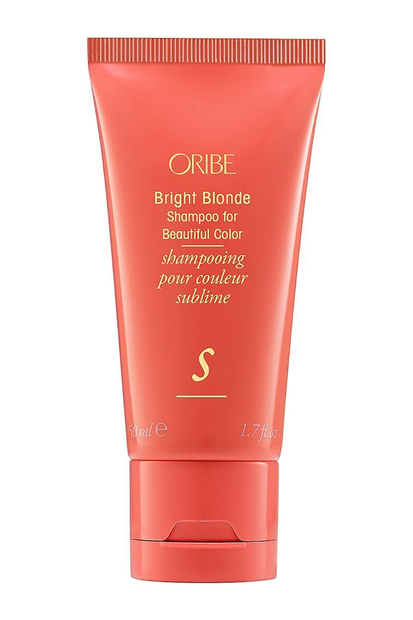 Oribe Шампунь для светлых волос Великолепие цвета Bright Blonde Shampoo for Beautiful Color (travel), 50 ml sexy hair sulfate free bright blonde shampoo 50