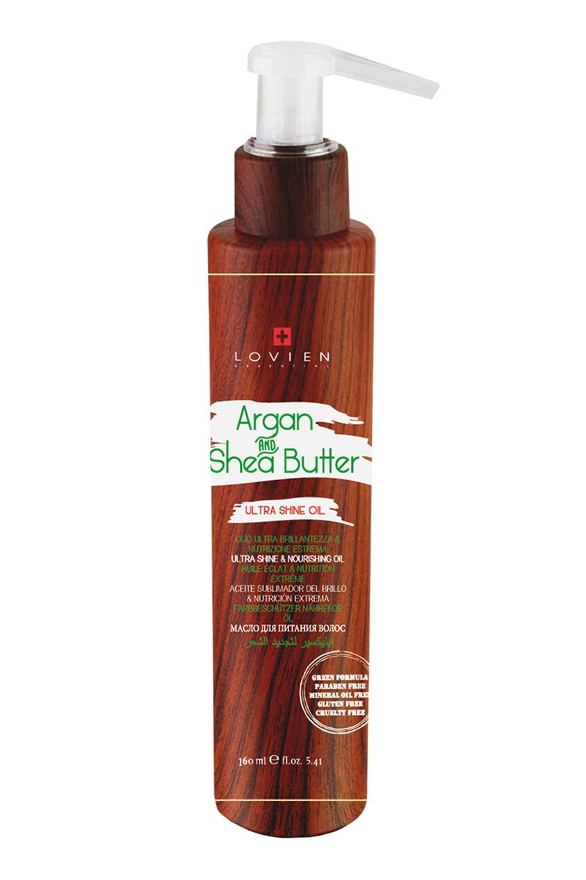 LOVIEN ESSENTIAL Масло-эликсир Ультра Блеск, 160 ml lovien essential маска кондиционер для волос lovien essential botox filler mask 250 ml