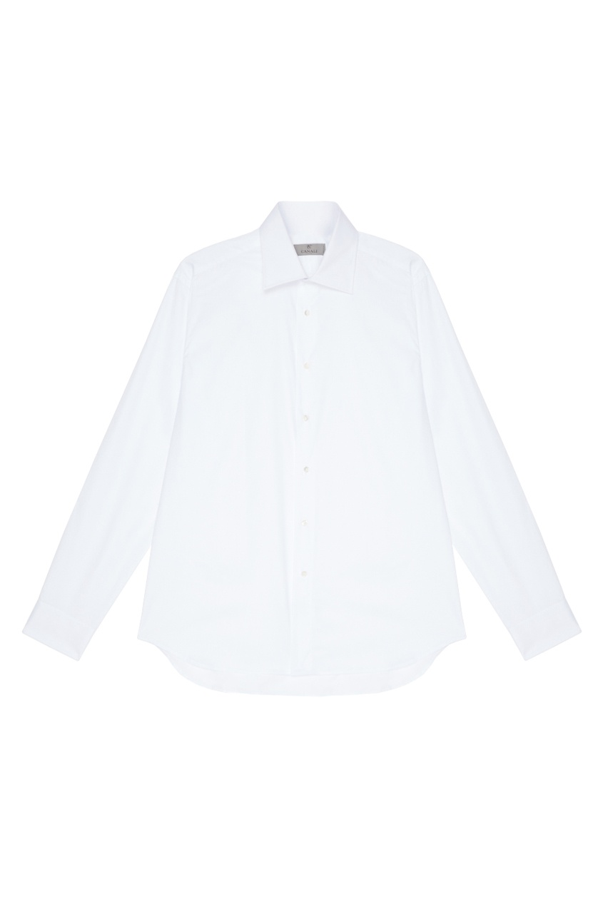 Canali Классическая белая сорочка