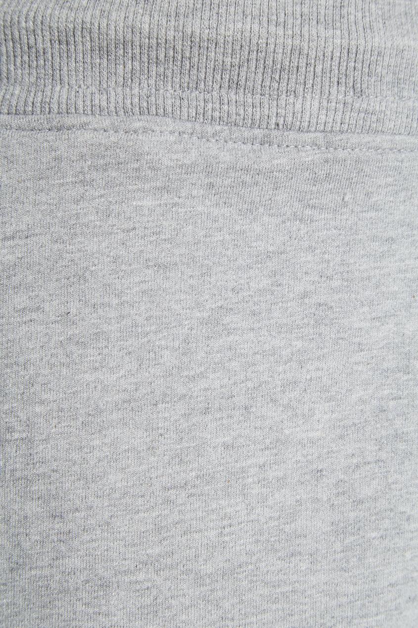 Серые шорты на завязках