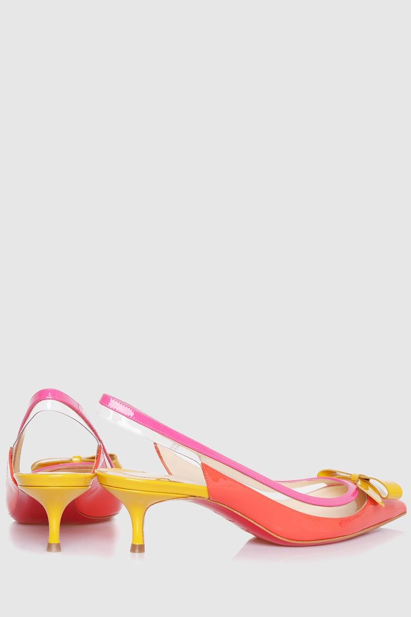 Туфли из кожи и пластика Suspenodo Sling 45