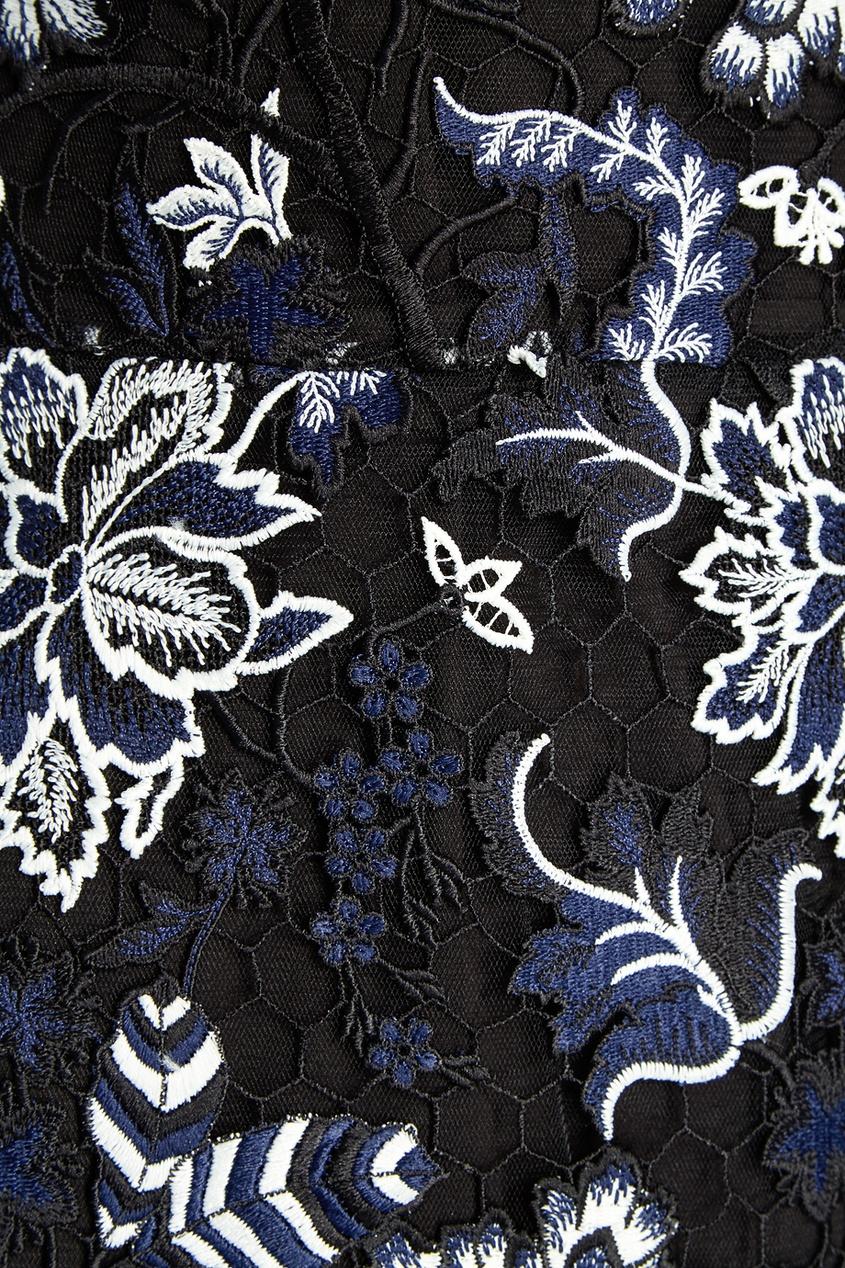 Diane von Furstenberg Кружевное платье diane von furstenberg шелковая блузка gilmore habotai