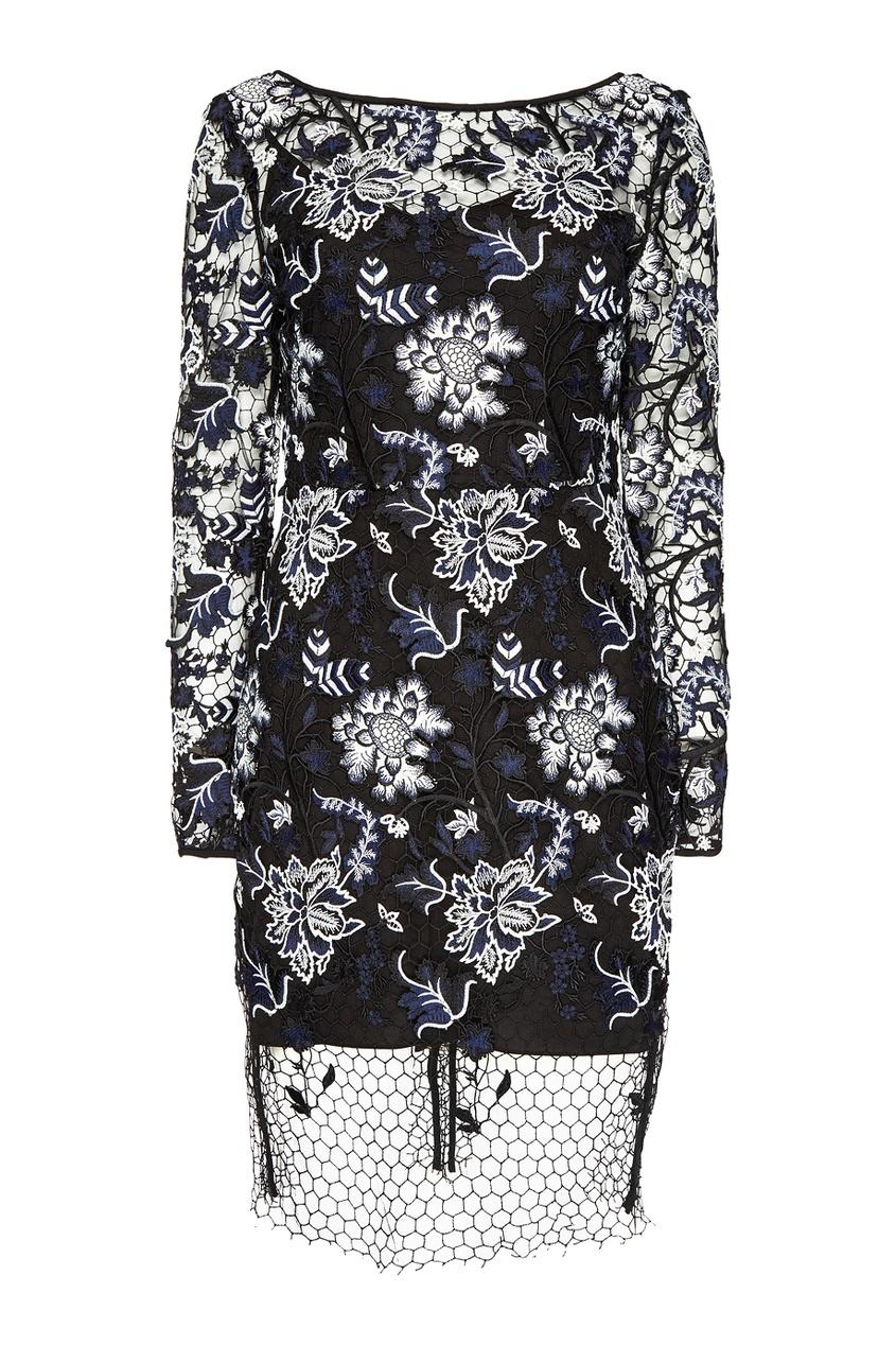 Diane von Furstenberg Кружевное платье