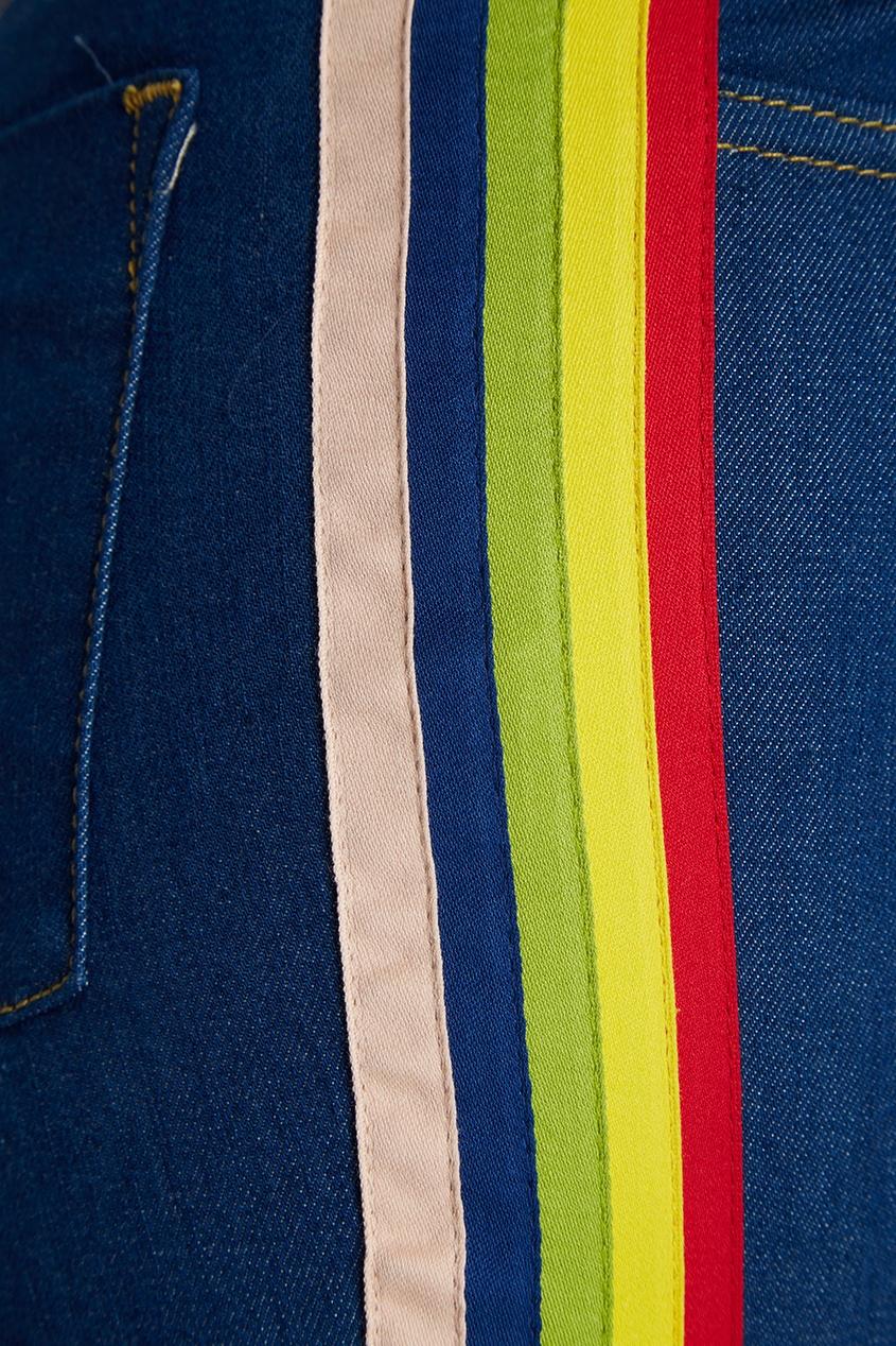 женские джинсы alice + olivia, синие