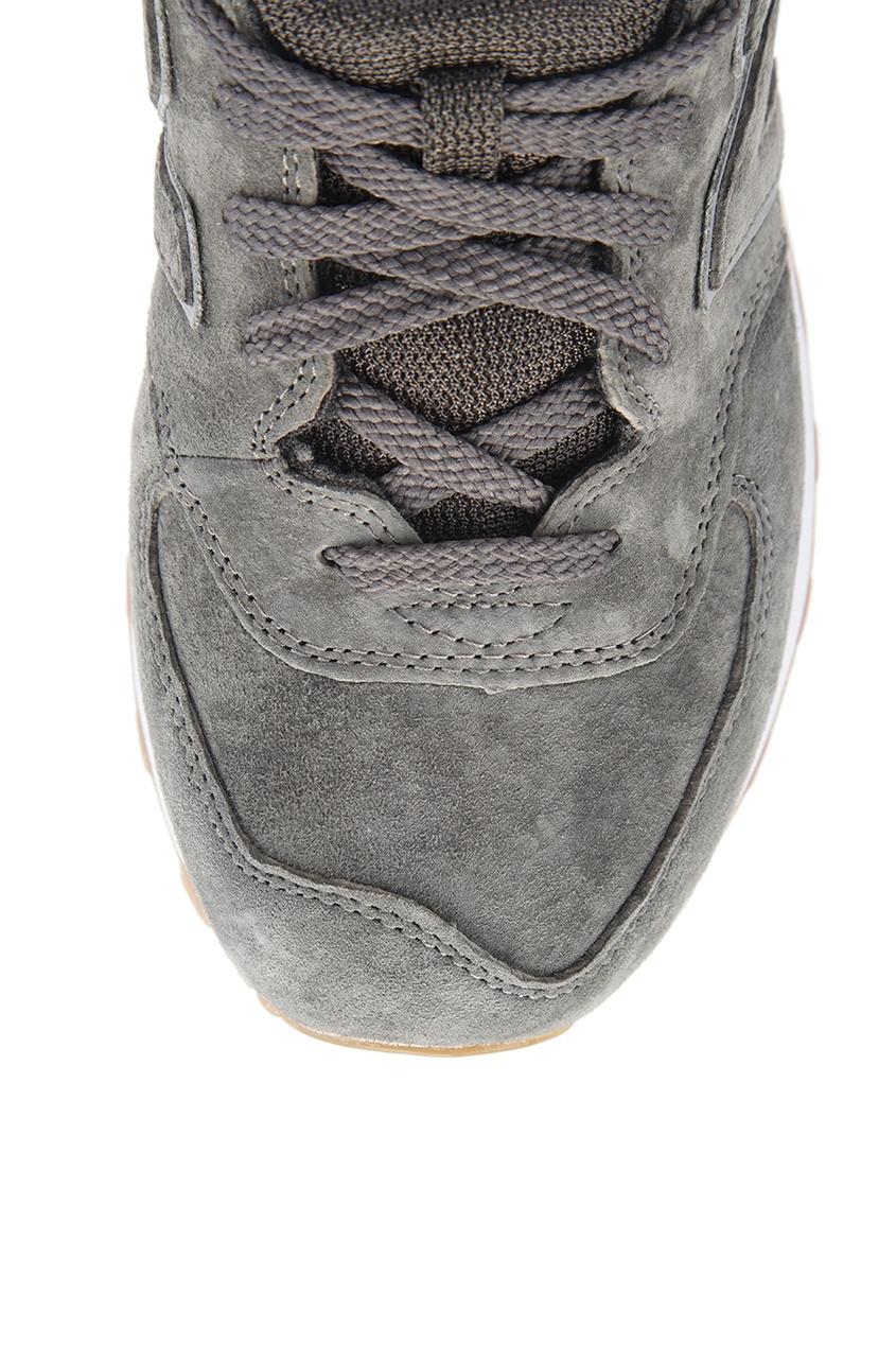 New Balance Светло-серые замшевые кроссовки №574 кроссовки new balance gw500lgt b