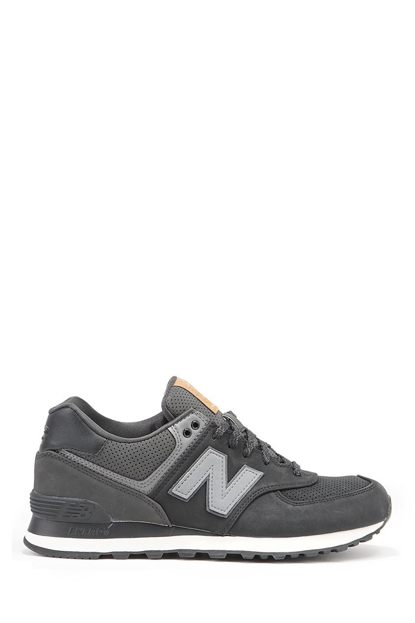 New Balance Темно-серые кроссовки №574 new balance футболка chiks