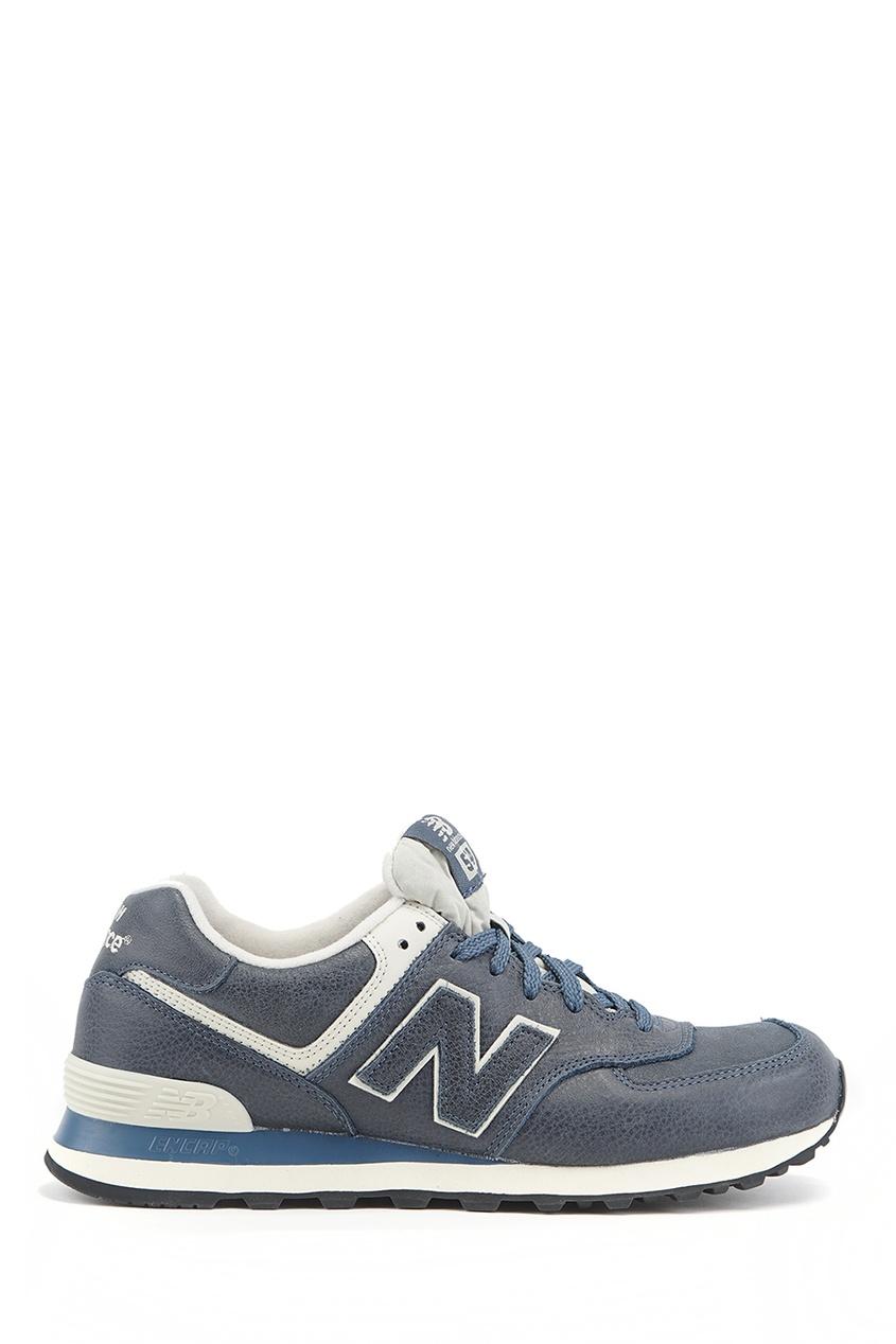 New Balance Комбинированные кроссовки из кожи №574 купить new balance u420ukg в сургуте