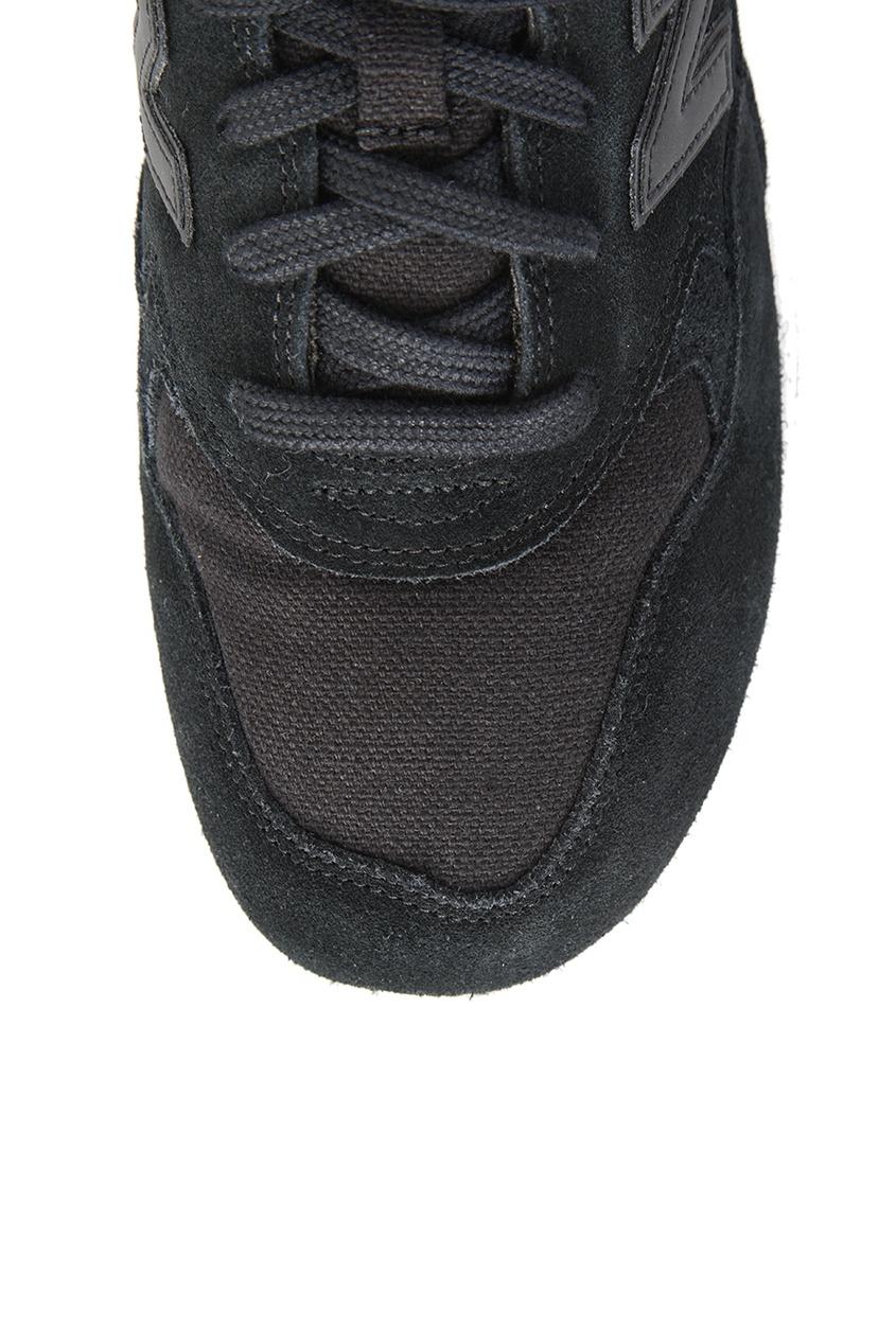 New Balance Черные замшевые кроссовки №580 кроссовки new balance кроссовки new balance 580