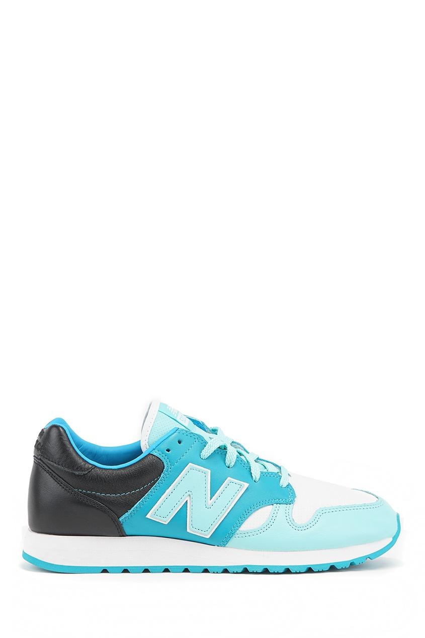 New Balance Голубые кроссовки из кожи №520 купить new balance u420ukg в сургуте