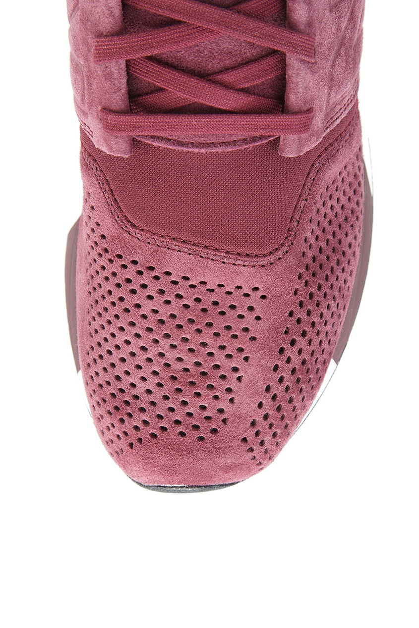 New Balance Бордовые кожаные кроссовки №574 кроссовки new balance gw500lgt b