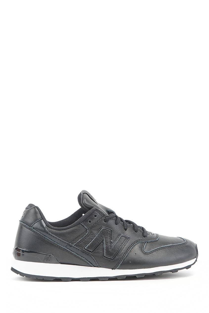 New Balance Черные кроссовки из кожи №996 купить new balance u420ukg в сургуте