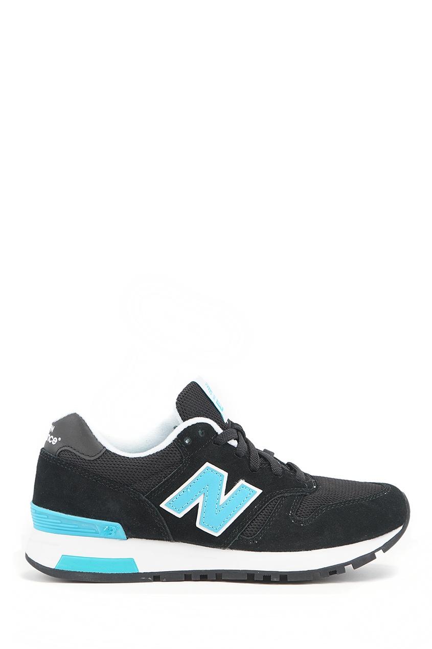 Черные замшевые кроссовки №565