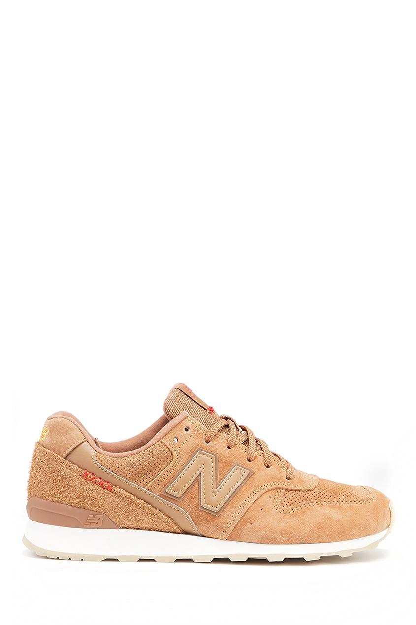 New Balance Бежевые кроссовки из замши №996 купить new balance u420ukg в сургуте