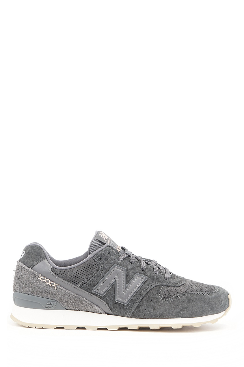 New Balance Серые кроссовки из замши №996 купить new balance u420ukg в сургуте