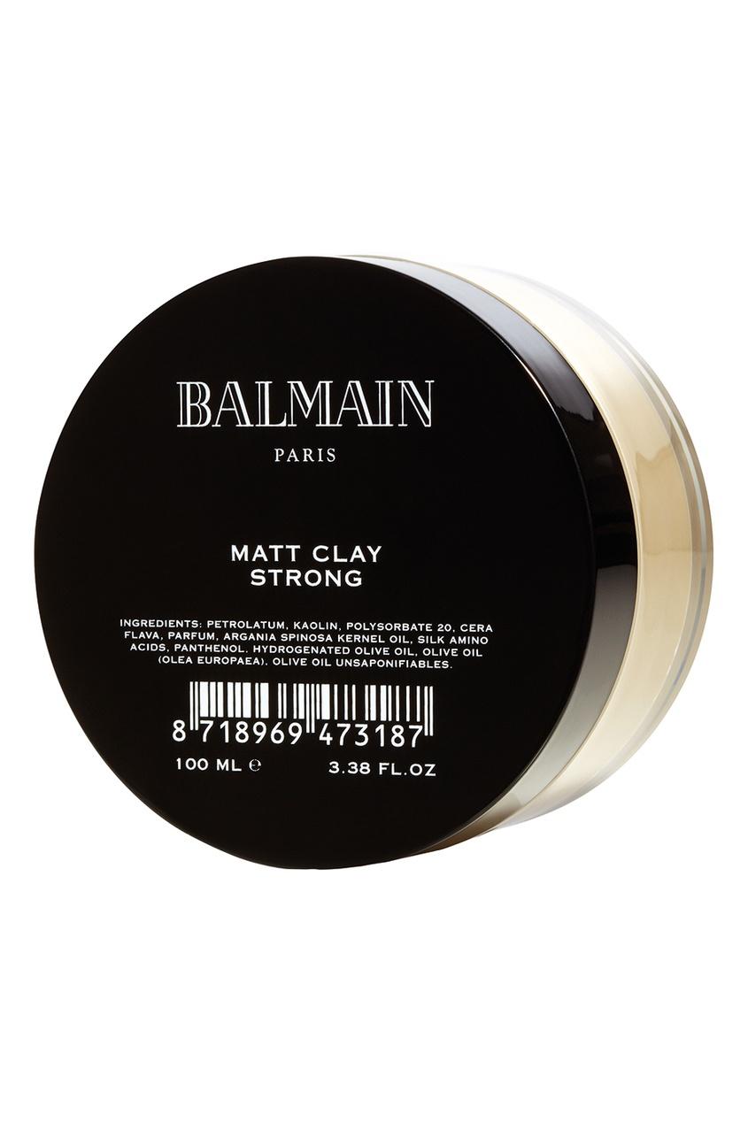 Balmain Paris Hair Couture Глина для укладки сильной фиксации с матирующим эффектом, 100 ml alterna лак сильной фиксации caviar anti aging extra hold hair spray 400ml
