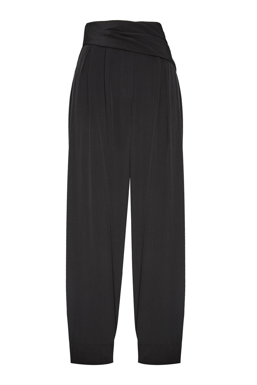 цена 3.1 Phillip Lim Черные шелковые брюки-палаццо онлайн в 2017 году