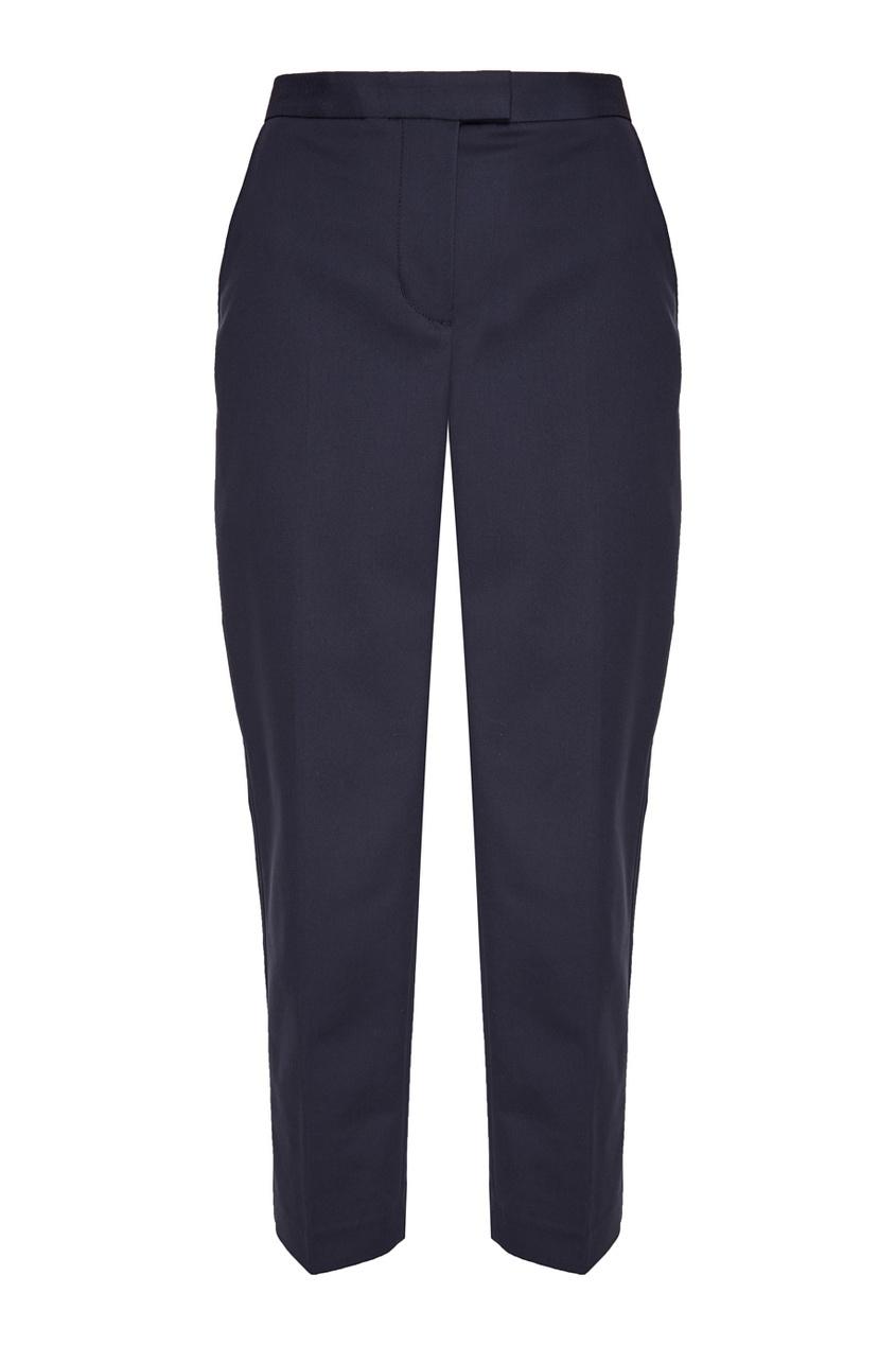 цена 3.1 Phillip Lim Синие хлопковые брюки онлайн в 2017 году