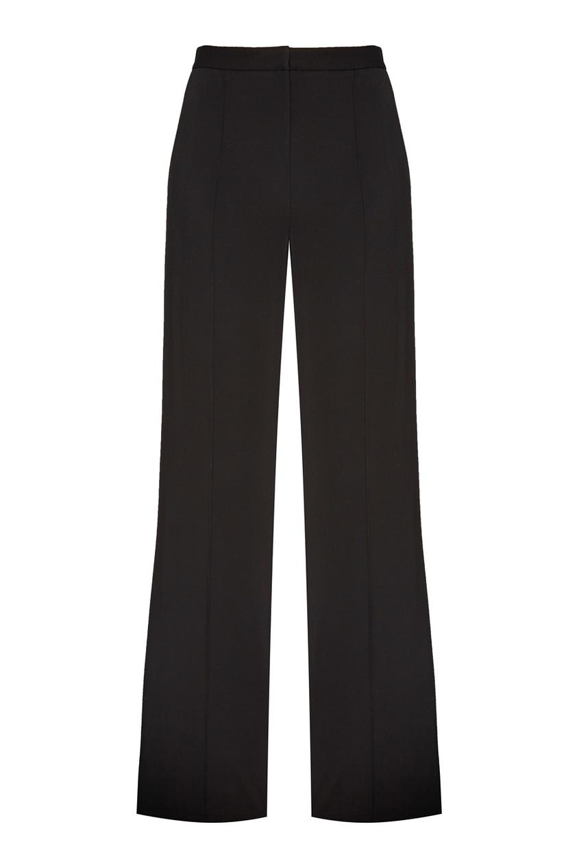 Diane von Furstenberg Черные широкие брюки diane von furstenberg хлопковые брюки fifi