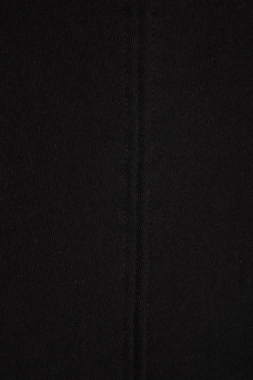 Хлопковое платье с драпировками