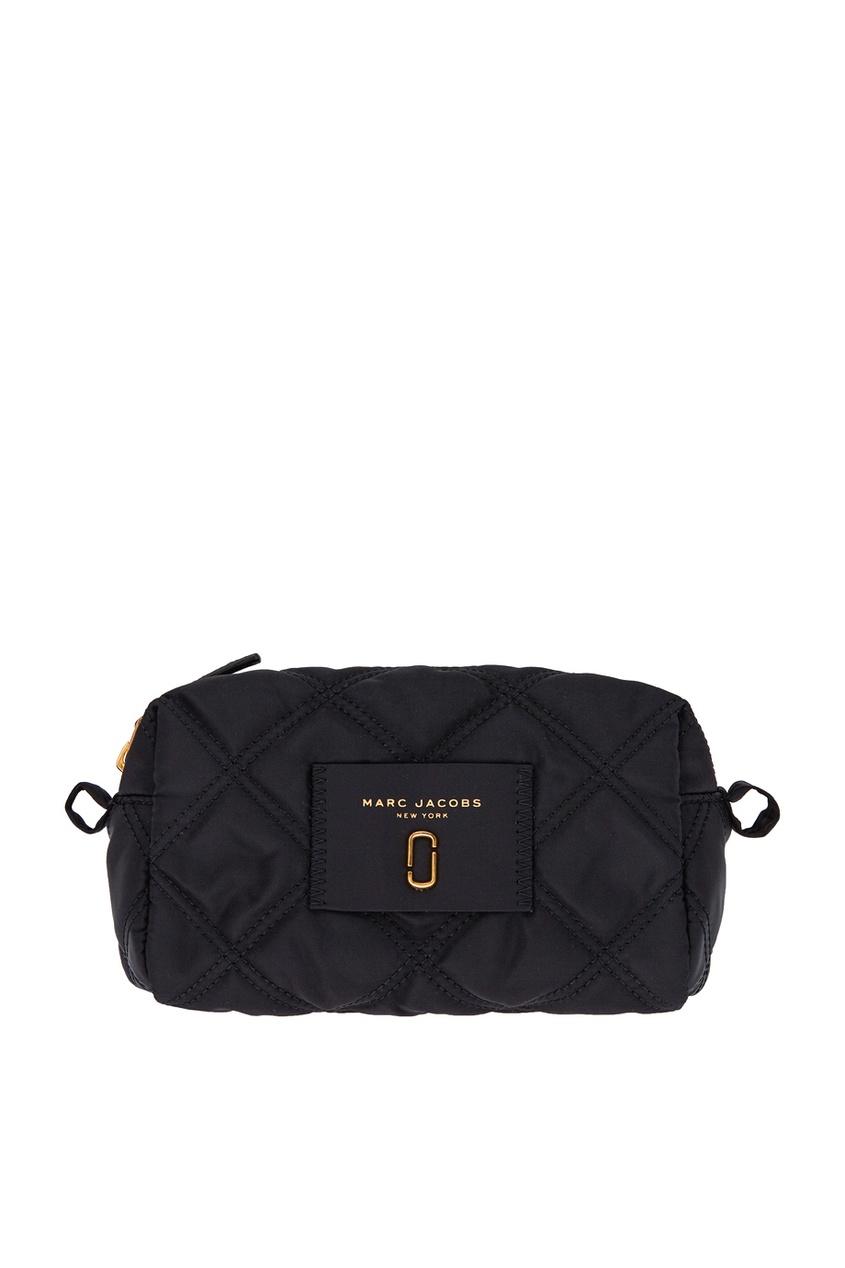 Черная текстильная косметичка Marc Jacobs