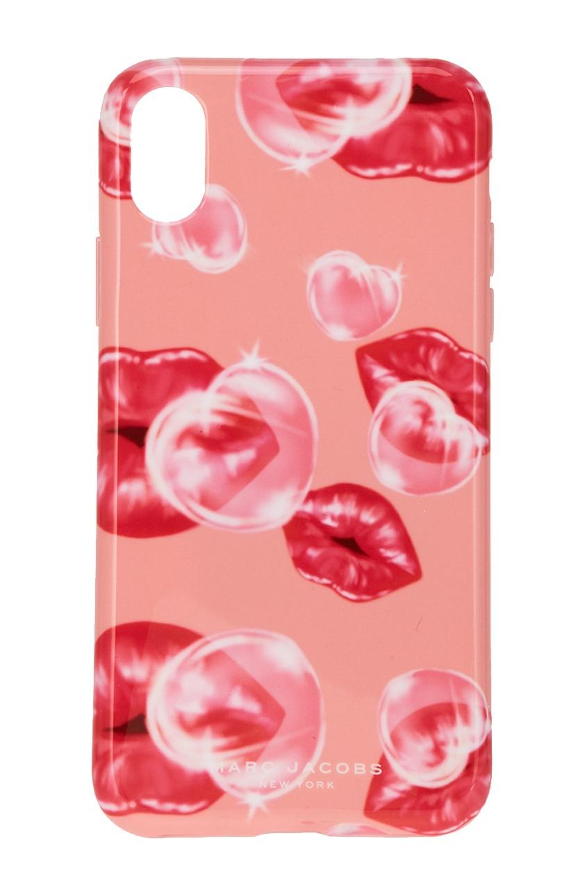Розовый чехол для iPhone X