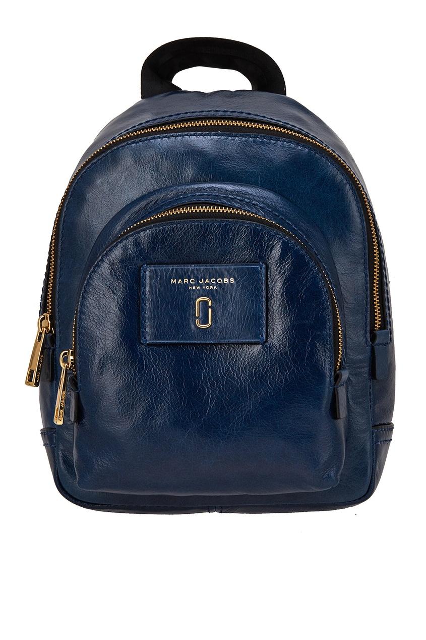 Marc Jacobs Синий кожаный рюкзак кожаный рюкзак