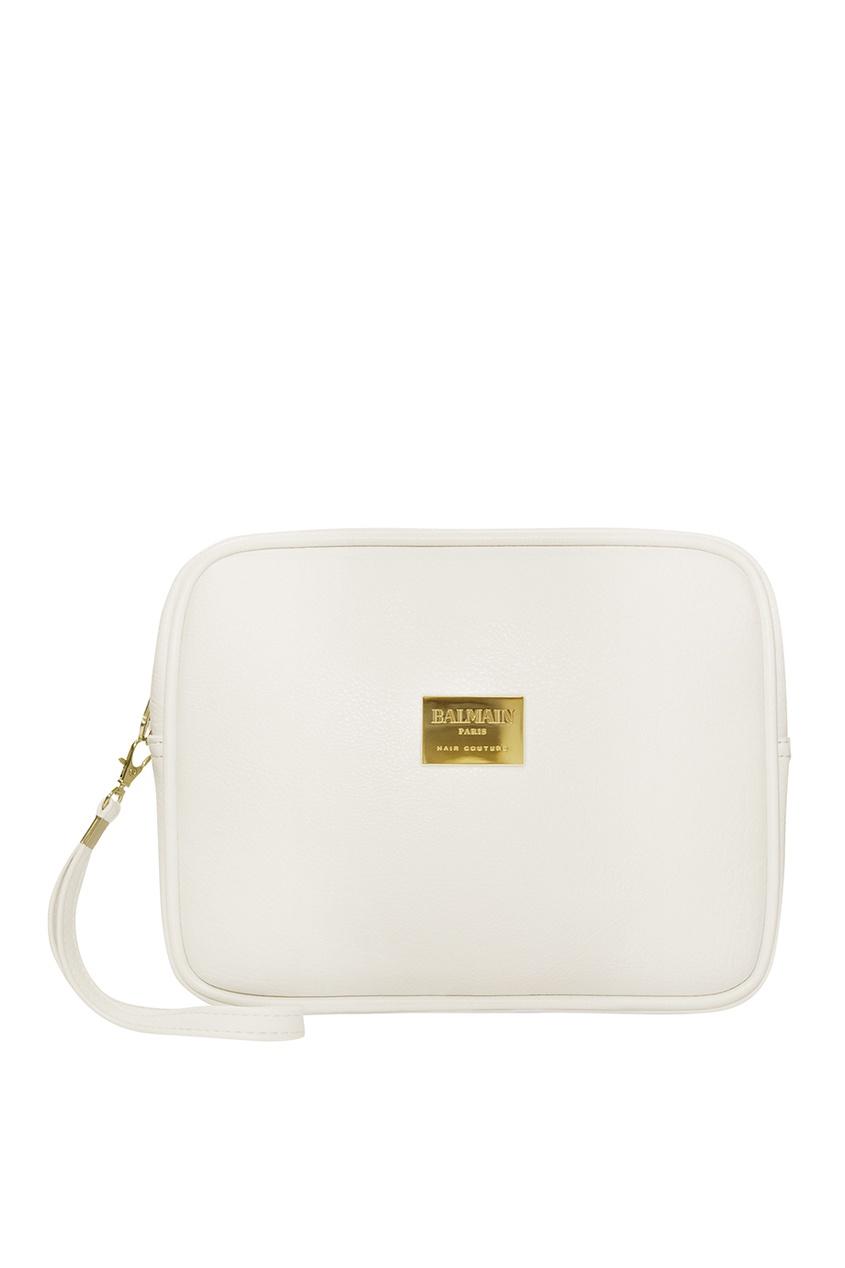 заказать Balmain Paris Hair Couture Белая косметичка со средствами для ухода