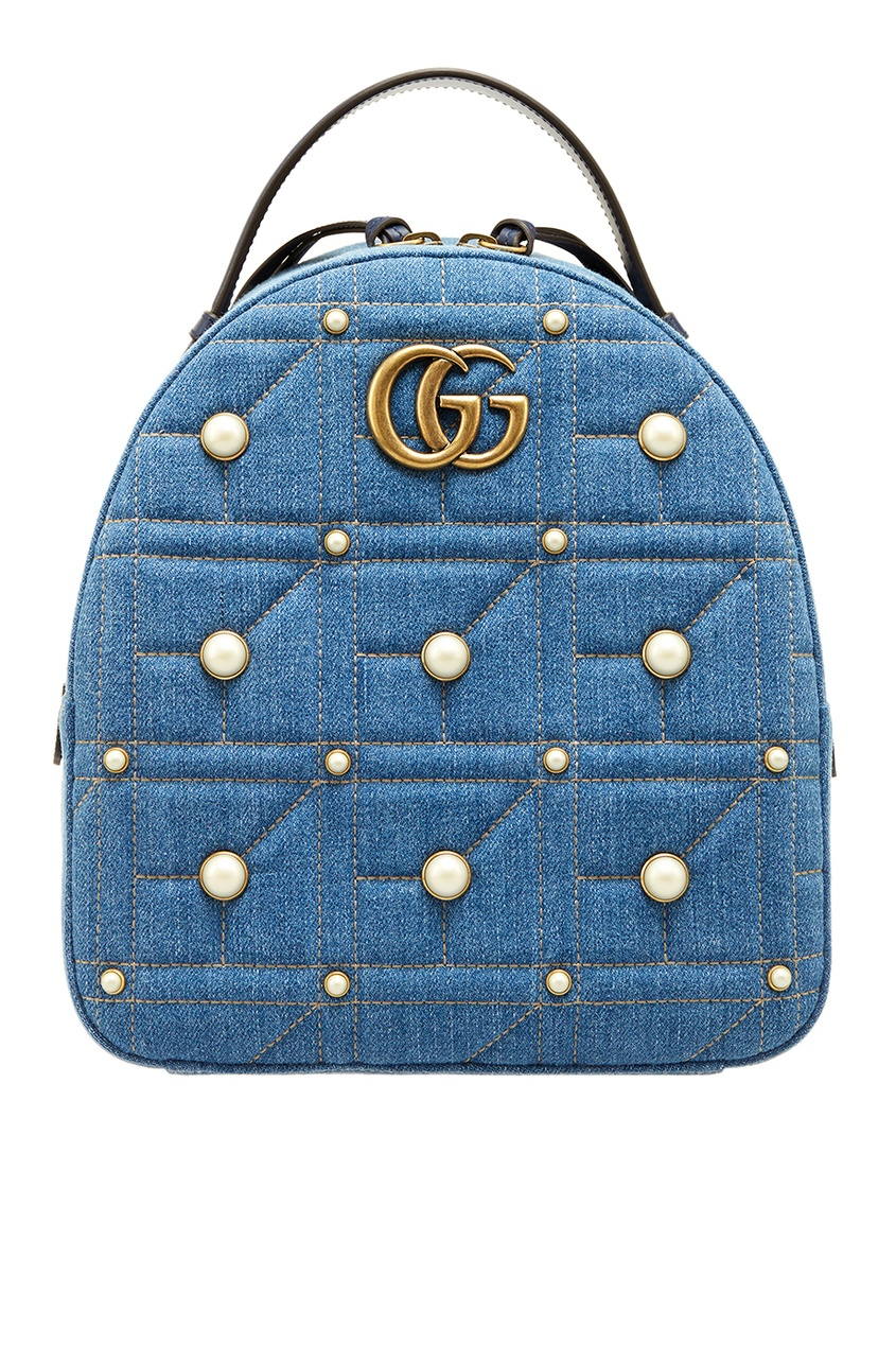 Gucci Рюкзак из денима GG Marmont 1 piece free shipping aluminium junction housing case for electronics waterproof ip 68 box 79 h x150 w x225 l mm