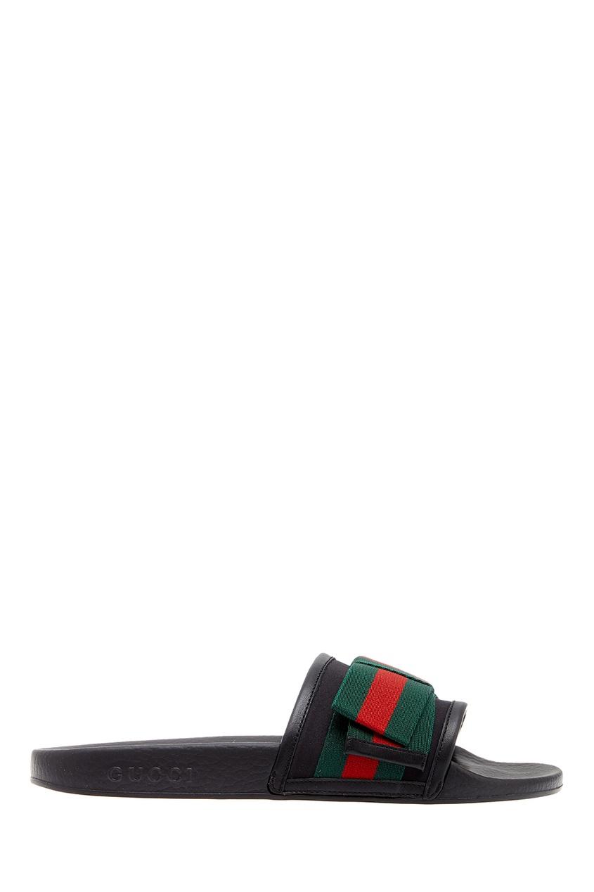 Gucci Сандалии с лентами gucci сандалии с принтом
