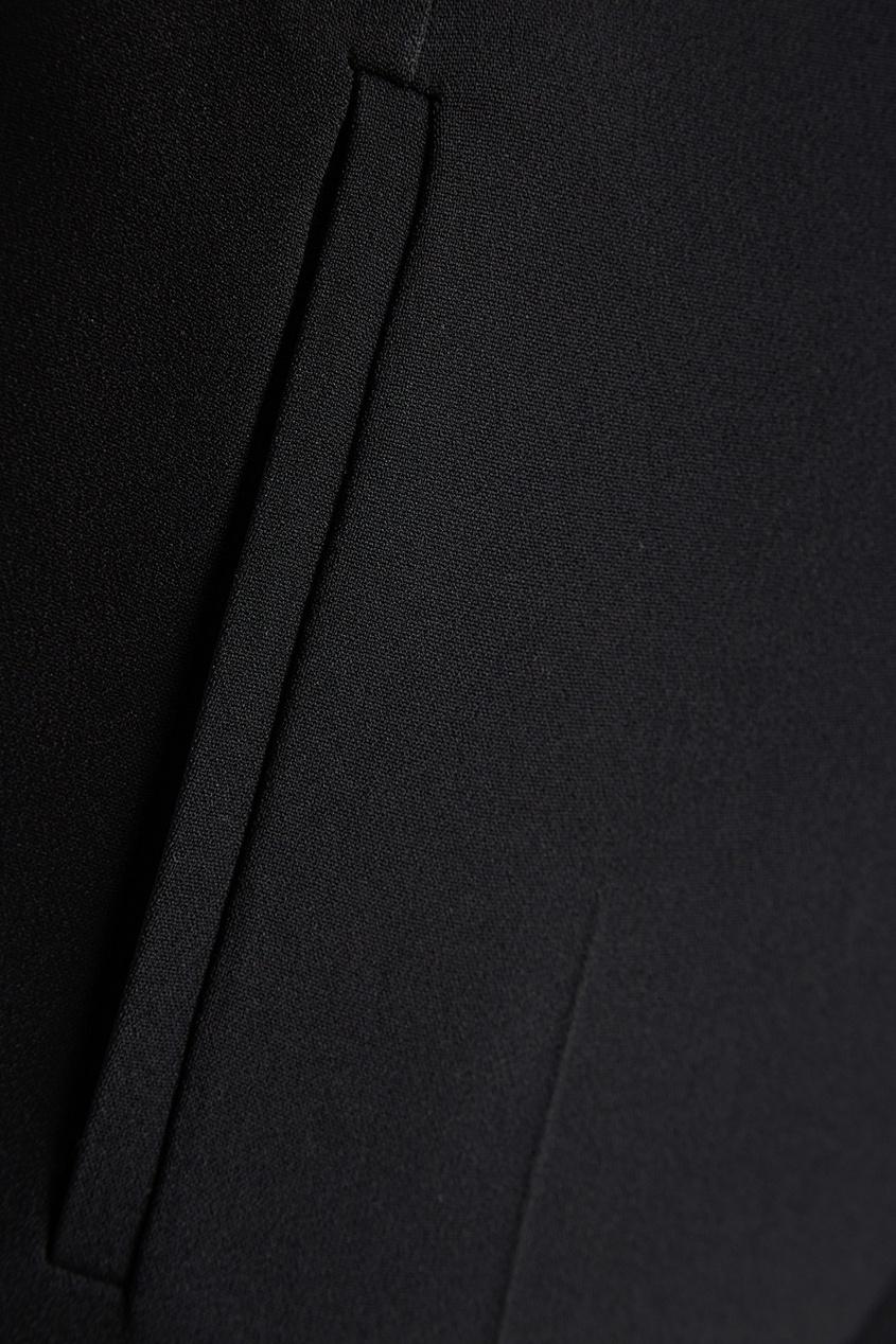 Черные брюки-палаццо