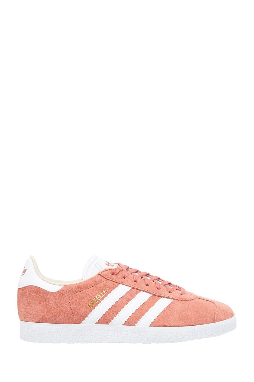 Adidas Розовые кеды из замши Gazelle рюкзак розового цвета adidas ут 00010770