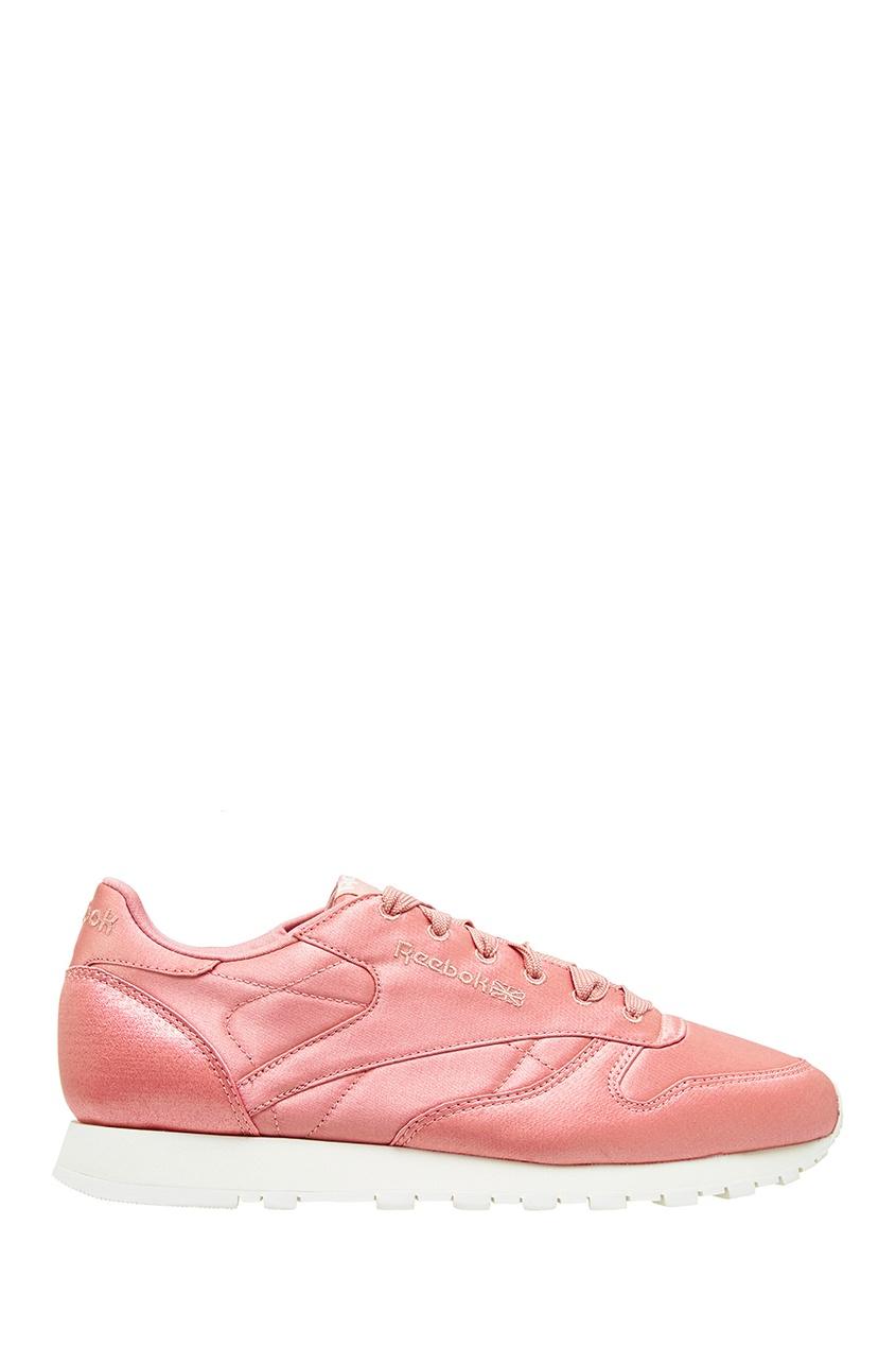 Reebok Розовые атласные кроссовки кроссовки reebok j94866